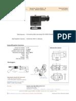 Conector 11mm DIN 43650 Padrão Industrial Icos