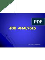 Unit -3 Job Analyisis