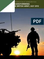 Transforming the British Army