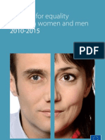 EU Strategy for Equality between Women and Men 2010-2015