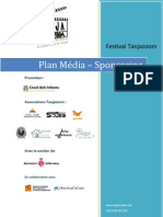 Sponsors et Plan Média Déf