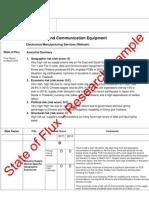 sample - state of flux supply chain risk assessment