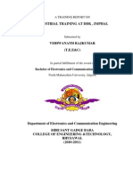 A Training Report on Ddk, Imphal