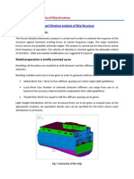 Forced Vibration Analysis of Ship Structure_rev0