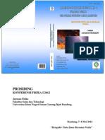 Prosiding Konferensi Fisika i