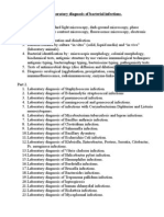Laboratory Diagnosis of Bacterial Infections