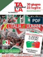 programma Festa Lungofiume di Imola 2012
