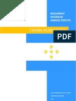 Règlement interieur du Tavini Huiraatira