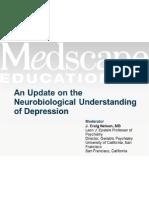Neurobiological Understanding of Depression