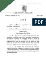 Legea 230-2007 Infiintare, Organizare Si Functionare AP