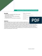 White Paper - Net Optics - Extending Network Monitoring Tool Performance