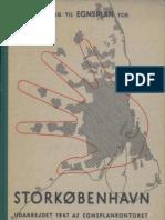 Skitseforslag til Egnsplan for Storkøbenhavn (Fingerplan of Copenhagen) 1947