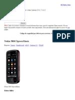 Resetear Nokia » Nokia 5800 XpressMusic