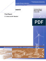 Small Wind Research Turbine - Final Report
