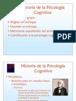 PsicologiaCognitiva Historia
