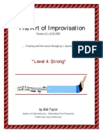 Guitar Learning - Jazz Improvisation Book