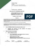 7-10-2012 Agenda City Commission Mtg Part 1