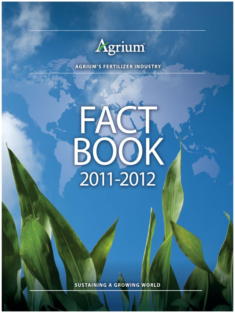 2011 Agrium Fact Book V18 W Links Potash Fertilizer