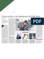 Cultura urbana hip hop Lima