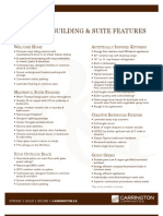 Rutherford Gate Condominiums Bldg C Feature Sheet