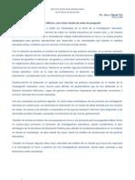 La investigación Educativa en México, una visión desde las aulas de posgrado