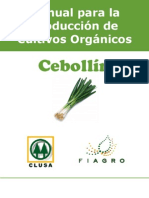 2003. FIAGRO. Manual de Producción de Cebollín Orgánico