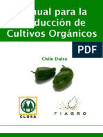 2003. FIAGRO. Manual de Producción de Chile Orgánico