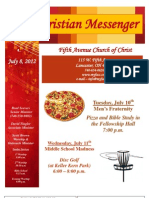 July 8 Newsletter