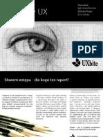 Raport Kariera-W-UX UXbite 2011