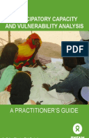 Participatory Capacity and Vulnerability Analysis: A practitioner's guide