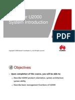 1) U2000 System Introduction.ppt