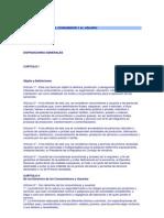 LEY DE PROTECCIÓN AL CONSUMIDOR Y AL USUARIO