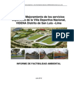 Informe de Factibilidad Ambiental Final