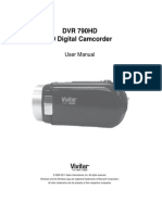 DVR 790HD Camera Manual