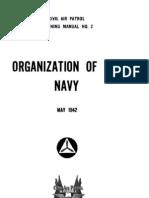 CAPM 2 Organization of Navy (1942)