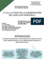 Labranza Convencional en Venezuela Version 2