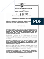 Decreto 1450 de 2012