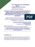 FACULDADDE DE ODONTOLOGIA DE RIBEIRÃO PRETO testes de espa