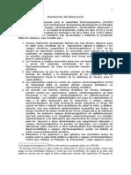 ResolutionBenevento Spanish
