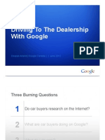 "Google Report | Automobile ""Path to Purchase"" Data (Q2-2012)"