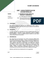 N CMT 3-04-003!05!1(Materiales Para Subdrenes)