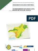 POEL Ocotlán - Propuesta de Modelo de Ordenamiento Ecológico