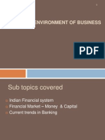 Module 4 - Financial Environment of Business