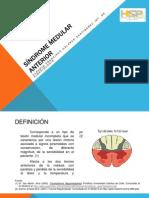 Síndrome Medular Anterior