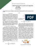 Comparación entre la Aplicación de la DCT y la KLT a la Compresión de Audio