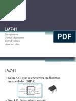 Amplificador Operacional LM741 Caracteristicas