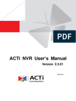 NVR 2.3 User Manual