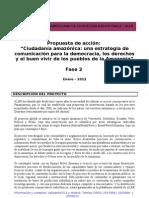 Iniciativa Panamazónica de Comunicación Fase2012