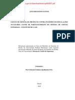 GESTÃO DE SISTEMA DE PROTEÇÃO CONTRA INCÊNDIO EM INSTALAÇÕES nucleares - cp060561