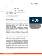 The Evolution and Revolution of Expense Management Automation Cost Control